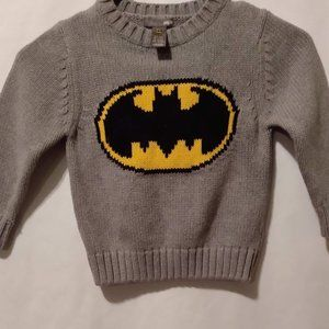 Batman Sweater Boys Size 5-6 H&M